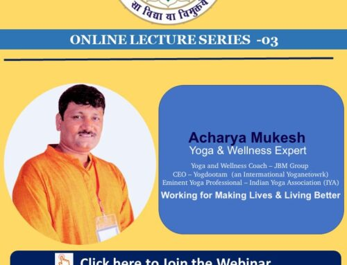 Webinar-Yoga as a therapy for 21st Century